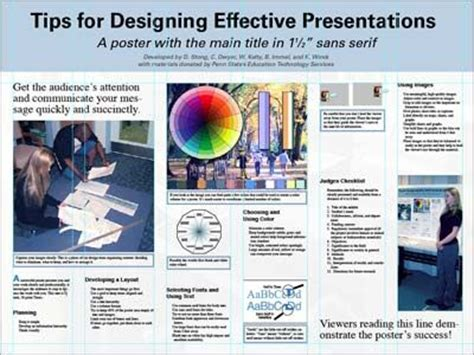 design poster tips 29 best images about academic poster on pinterest