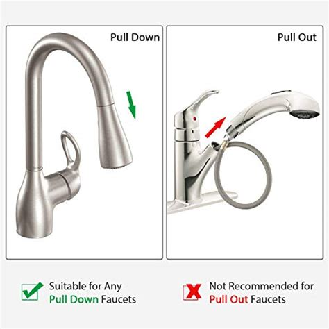 skygenius replacement hose kit  moen pulldown kitchen faucets  moen  ebay