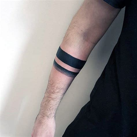 solid band tattoo collection of 25 black leg band tattoos