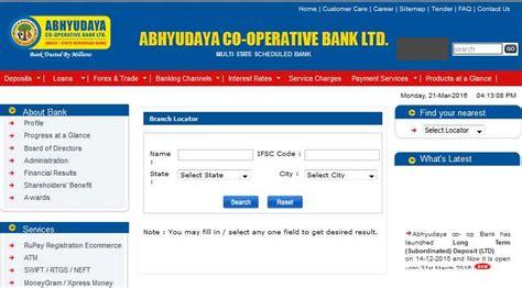 co operative bank contact details 2018 2019 student forum abhyudaya bank branch