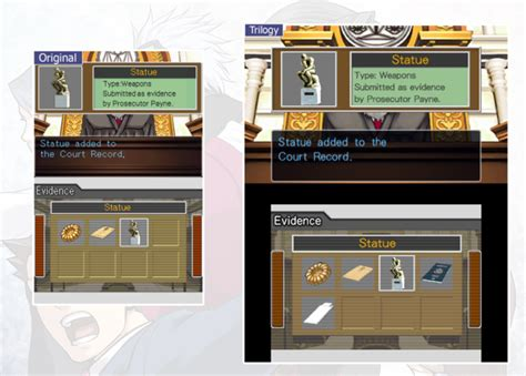 Court Records Wright Crunchyroll Quot Ace Attorney Trilogy Quot Screens Compare Ds Graphics To 3ds Update