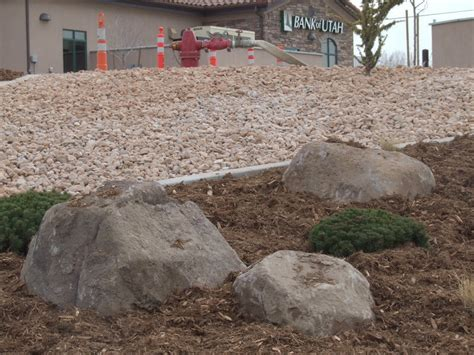 walnut boulders utah landscaping rock