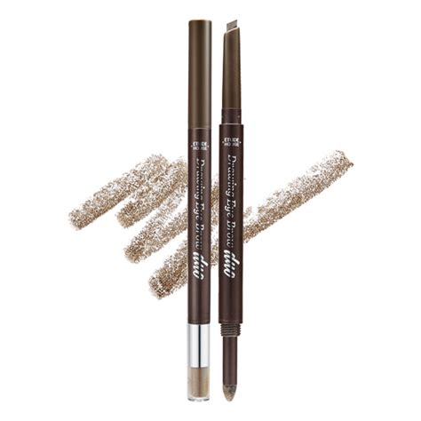 Etude House Drawing Eyebrow No 6 etude house drawing eye brow duo 0 8g eyebrow liner