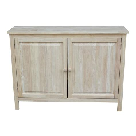 Unfinished Storage Cabinets International Concepts Unfinished Storage Cabinet Cu 160 The Home Depot