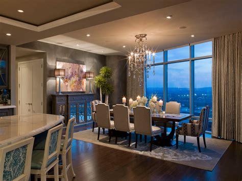 luxury condo design austonian luxury condo contemporary dining room