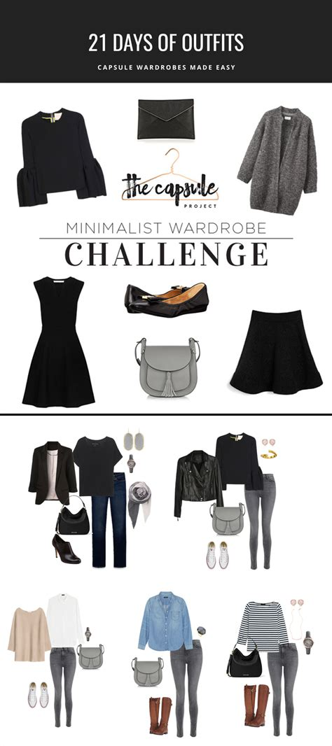 How To Build A Minimalist Wardrobe by How To Dress Better With The Minimalist Wardrobe Challenge