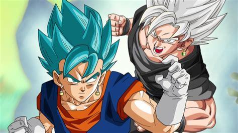 imagenes de goku maligno vegetto vs black goku la fusi 243 n dios enfrenta al dios