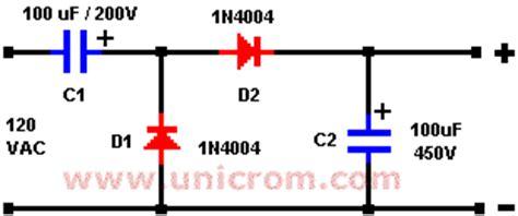 capacitor y acumulador duplicador doblador de voltaje de media onda electr 243 nica unicrom