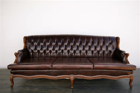 Vintage Sofa Rental Vintage Leather Sofa Out Of The Dust Rentals