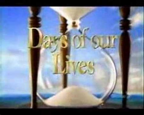 youtube days of our lives days of our lives intro youtube