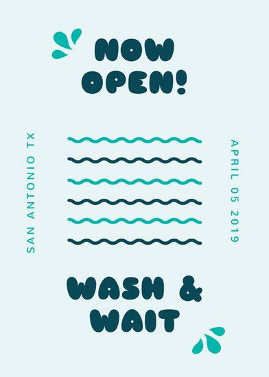 Customize 167 Cleaning Flyer Templates Online Canva Clean Wavy Free Template For