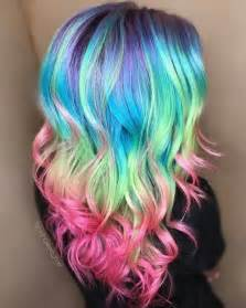 rainbow hair color pictures 28 rainbow hair color ideas for 2017