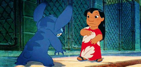 lilo and stitch hug gif find share on giphy love gif find share on giphy