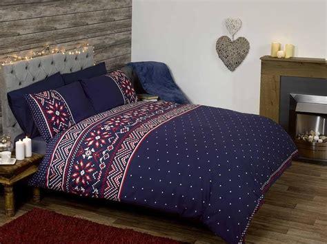 nordic seasonal winter bedding scandinavian christmas theme cosy duvet cover ebay