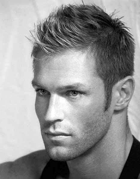 mens hair before the front spiked faux hawk hairstyles for men 40 fashionable fohawks