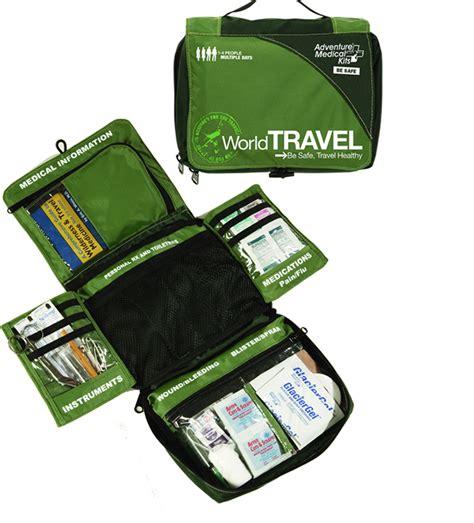 Travel Medicine Pouch Tas Travel P3k world travel aid kit sm0130 0425 survivalmetrics survival metrics llc