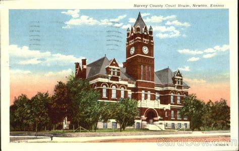 harvey county court house newton ks