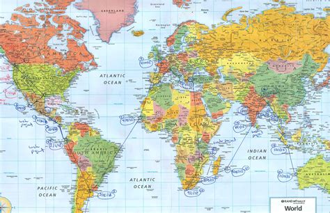 the world travels of map itinerary ongoing plan for world travels hopeful water