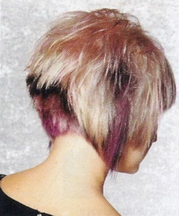 edgy a line hairstyles edgy cropped textured chin length a line bob haircut 2015
