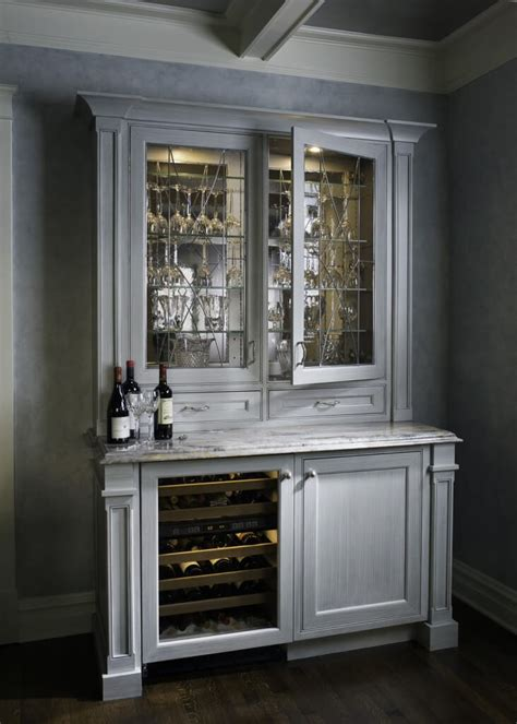 built in wine cooler cabinet 15 custom luxury home bar designs by drury design