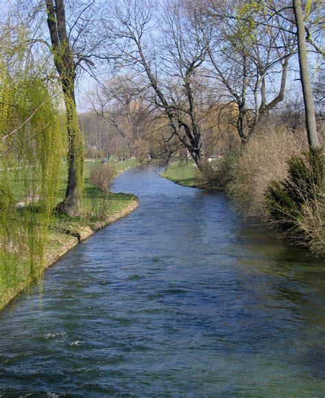 Englischer Garten München Koordinaten by Schwabinger Bach
