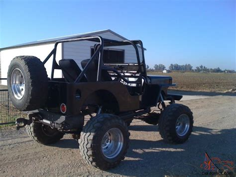 willys jeep offroad 1952 willys jeep 4x4 rock crawler