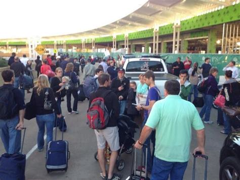 Al Breaches Airport Security by Passengers Evacuated At Bhm Shuttlesworth Airport