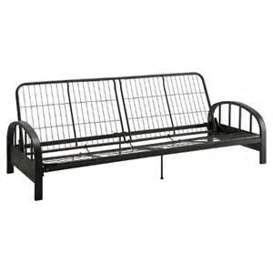 aiden futon frame black dhp target