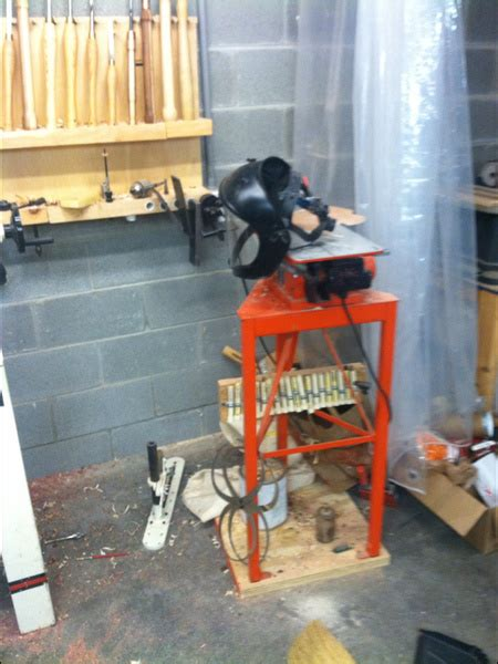 level lathe stand  woodworking talk woodworkers