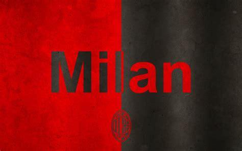 Kaos A C Milan Football Logo 4 Singlet Tanpa Lengan Tpl Acm15 Pria ac milan logo wallpaper t