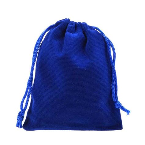 useful velvet drawstring cloth jewelry gift headphones