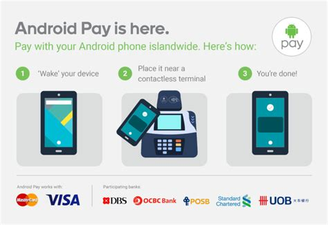 android pay stores android pay is here in singapore samsung is doomed