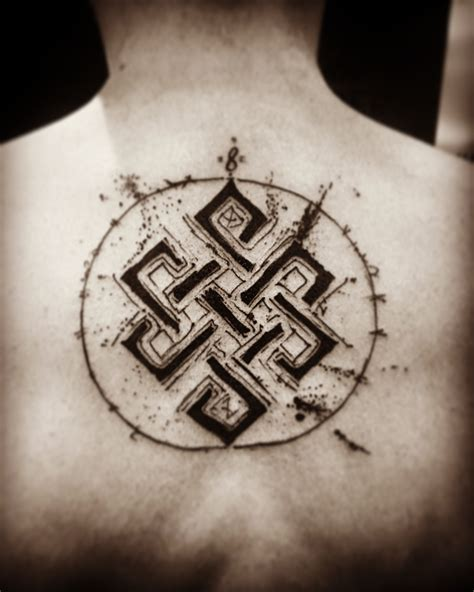 karma tattoo endless knot karma knot