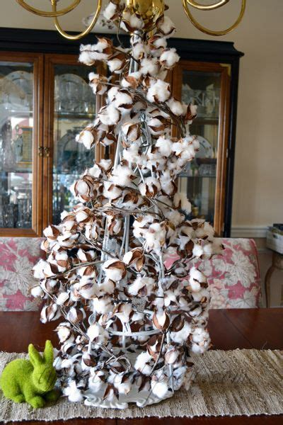 xmas floral decoration using cotton stalks 17 best images about decorating with cotton stems on herons olives and thanksgiving