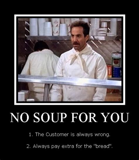 Soup Nazi Meme - soup nazi rolls the seinfeld food truck into boston
