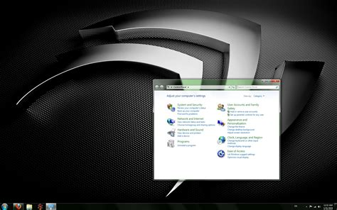 themes for windows 7 nvidia nvidia theme for windows 7 by geekyjoncool on deviantart