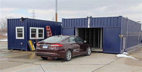 mobile wind ford develops mobile aeroacoustic wind tunnel