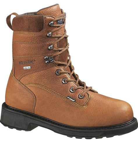 wolverine durashock 8 inch composite toe waterproof work