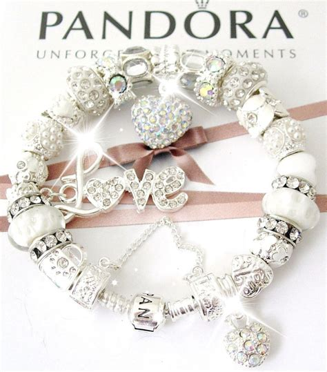 who makes pandora jewelry silver pandora bracelet with charms transfert discount