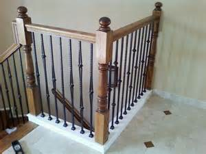 Stairs With Spindles by Iron Balusters Artistic Ornamental Iron Of Minneapolis Mn