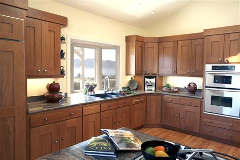 kitchen appliances san francisco san francisco cherry shaker cabinets kitchen contemporary