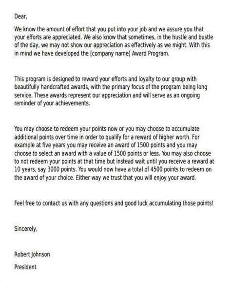 appreciation letter sle for performance appreciation letter performance 28 images 110 thank