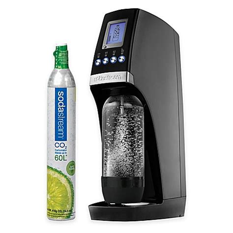bed bath and beyond soda stream sodastream revolution sparkling water maker starter kit in
