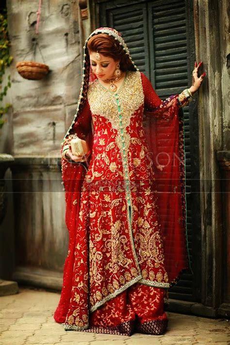 Latest Style Pakistani Bridal Outfitsmbinations