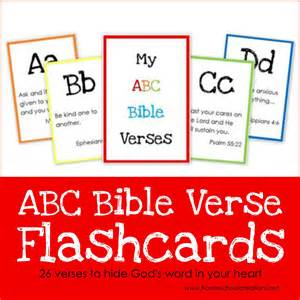 Letter Using Bible Verses Abc Bible Verse Flashcard Printables Teaching God S Word