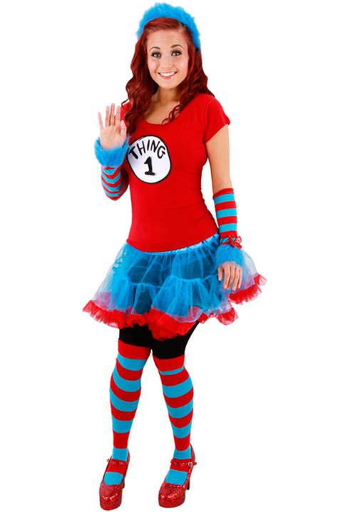 dr seuss diy costumes dr seuss thing 1 and thing 2 tutu costume s m ebay