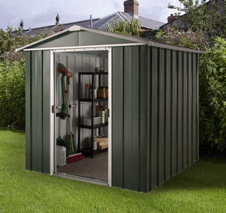 hercules deluxe apex metal shed and floor frame 10 x 8ft