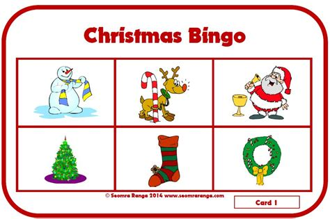 printable christmas listening activities christmas bingo 01 171 christmas resources for teachers
