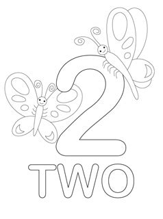 Number Coloring Pages Mr Printables Coloring Page 2