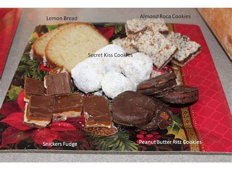 neighbor bake holiday ideas neighbors goodie plates goody goodies baking